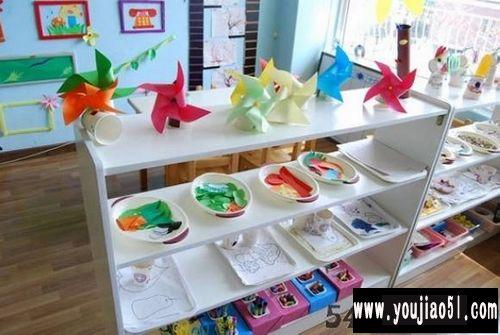 区角布置:美工区2_幼儿园环境创设