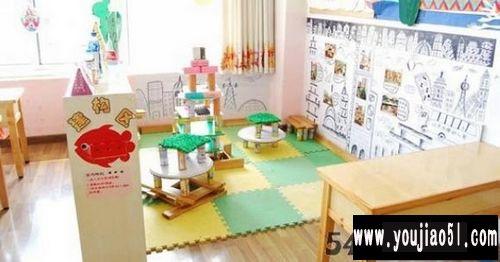 区角布置:建构区_幼儿园环境创设