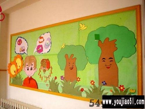 幼儿园室内墙面创设_幼儿园环境创设