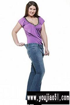 胖女人牛仔裤搭配