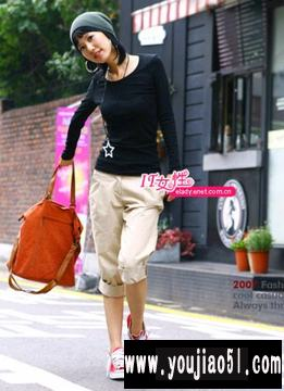 韩国小女生秋季帽子可爱搭配